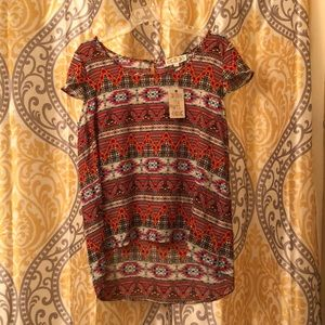High/Low Blouse NWT